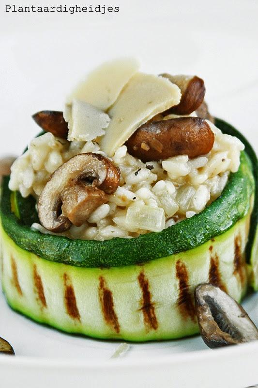 vegetarische risotto maken