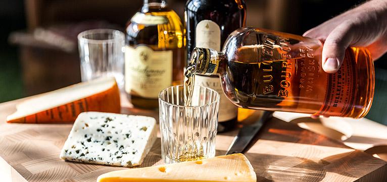 kaas gecombineerd met whisky
