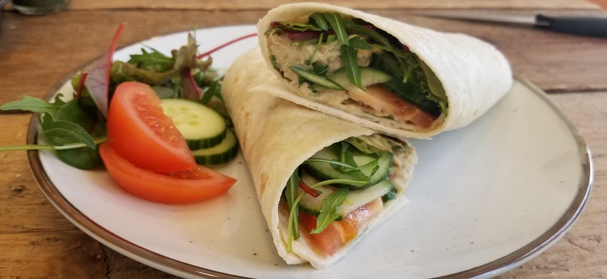 gezond recept voor gerookte makrlee salade