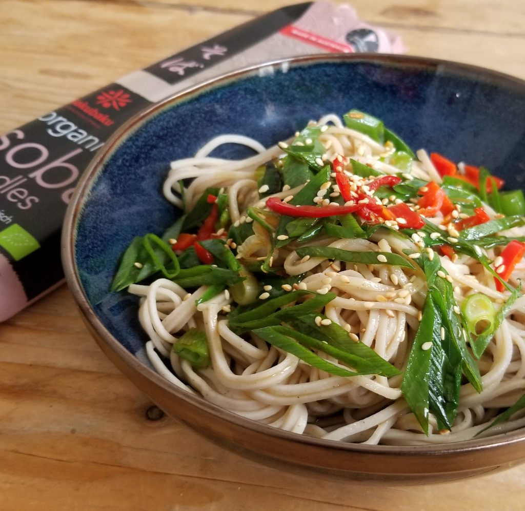 veganistische soba noedels - 9x vegan lunch recept inspiratie