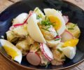 Recept aardappelsalade met ei, radijs en zelfgemaakte yoghurtdressing
