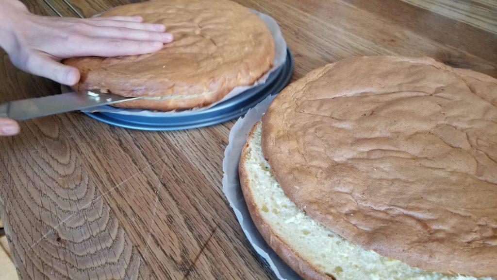 Zelf slagroomtaart maken
