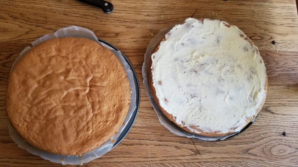 Glutenvrije slagroomtaart maken