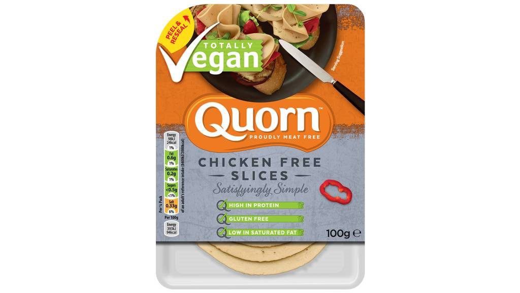 Quorn Chicken Free Slices - Caloriearm en vegan
