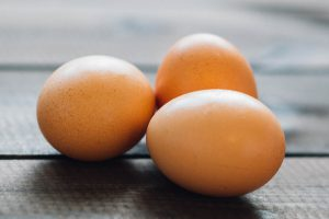 Lekker slank met gekookte eieren