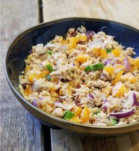 Zelf gezonde tonijnsalade maken