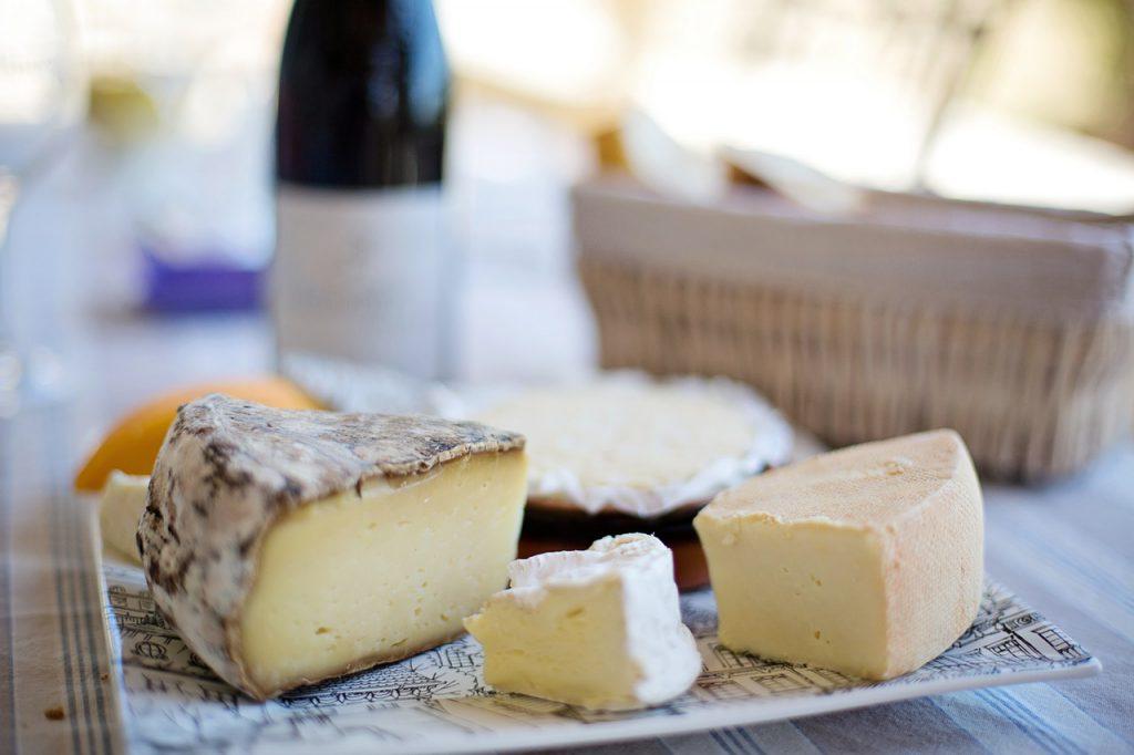 Maak een kaasplank