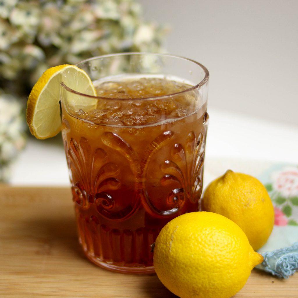 zelf ijsthee maken met citrusvruchten